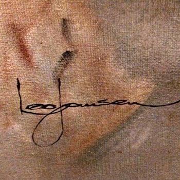 Leo Jansen painting ! Playboy artist. - Fine Art
