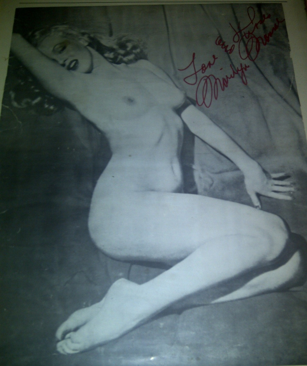 Marilyn Monroe Nude Poster Pinup  Collectors Weekly-4344