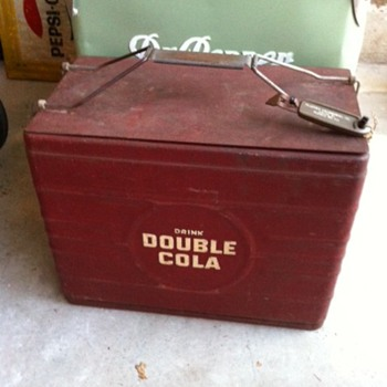 Double Cola Atlas 18 Cooler - Advertising