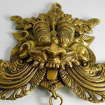 India, Brass Yali/Vyalam Figure - Asian
