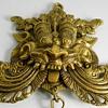 India, Brass Yali/Vyalam Figure