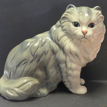 Large Coopercraft Persian Cat - Animals