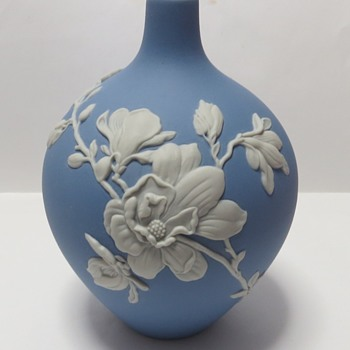 Wedgwood Jasperware Magnolia Bud Vase - China and Dinnerware