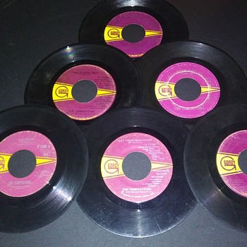 SIX FROM 'GORDY'...ON 45 RPM DISCS - Records
