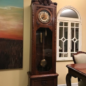 Restored German Grandfather clock - Clocks