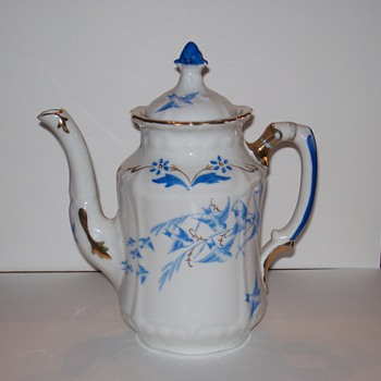 Rorstrand Porcelain Coffee Pot - Kitchen