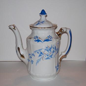 Rorstrand Porcelain Coffee Pot