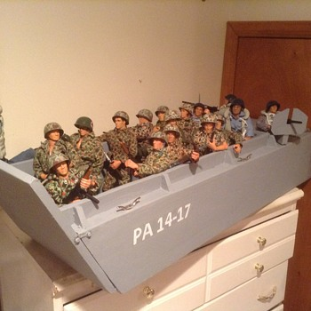 12 inch GI Joe Landing Craft - Toys