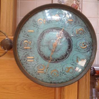 kienzle Wall Clock Looks like Pocket watch  from 1960s ???