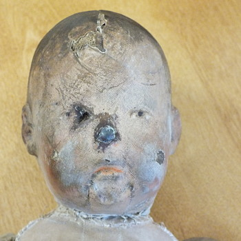 Unidentified Antique Doll - Dolls