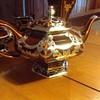 Lenox Silver Overlay Demitasse Coffee/Teapot set