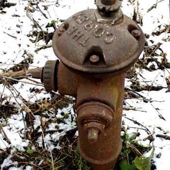 Circa 1919 Corey Fire Hydrant - Firefighting