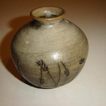 Unknown maker/mark  ceramic vase - Pottery