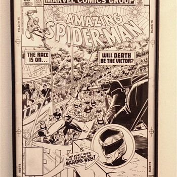Amazing Spider-Man original cover art - Comic Books