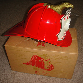 Texaco Fire Helmet