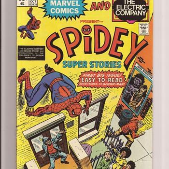 First issue fun - Comic Books