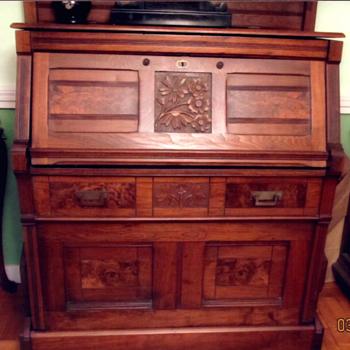 Chicago Ill, Septemer 25, 1877 Desk Bed - Furniture