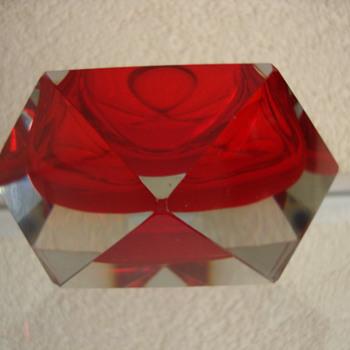 murano ashtray - Art Glass