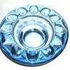 1962 CZECH Art Glass Ashtrays -- TWO