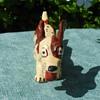 Vintage Pottery Grindley Ware  Sebring, Ohio 1930's Running Dog Figurine! :^D