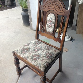 Style of chair and Time period