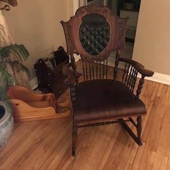 Antique Rocking Chair - Furniture
