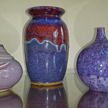 I'm loving the color's. .....more pottery - Pottery