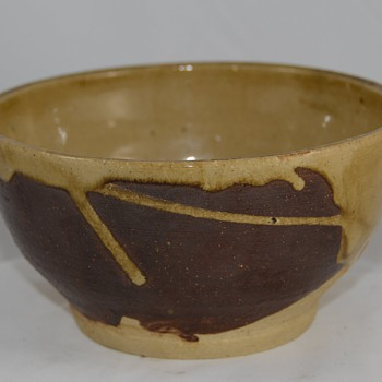 Unknown Drip Glaze Bowl unsigned - Pottery