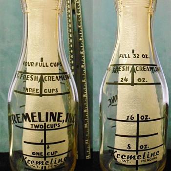 Kremeline Milk Bottle