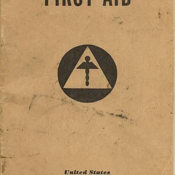 World War II First Aid Handbook (U.S. Office of Civilian Defense) - Books