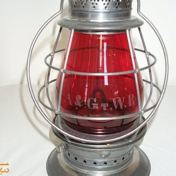 Atlantic & Great Western Railroad Lantern