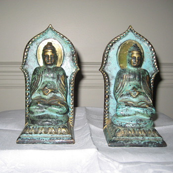 Buddha Book ends. I really love these. Can you tell me more about them.