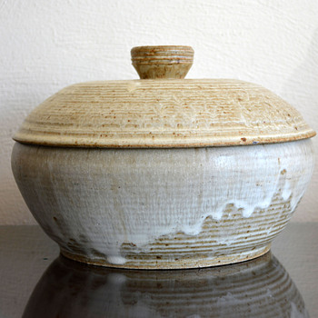 Lidded Pottery Bowl - Pottery