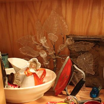 Wall Vase?? Art Deco - Art Glass