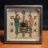 """""""Happy Days"""" Animated Clock by Lux Clock MFG."""