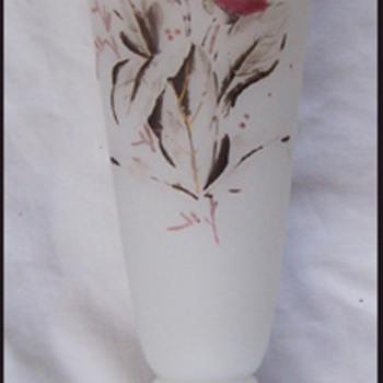 BOHEMIAN CASTELATED VASE - Art Glass