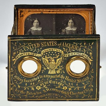 Stull Daguerreotype Viewing Case, c.1855 - Cameras