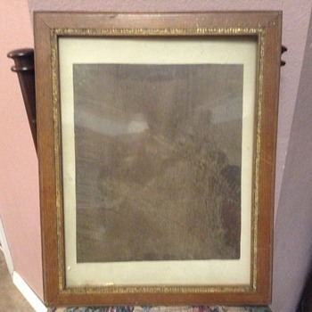 Vintage Picture frame - Posters and Prints