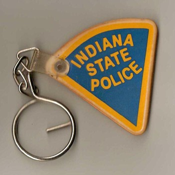 Indiana State Police Keyring Fob - Politics