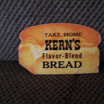 Kern's Bread Advertisement - Advertising
