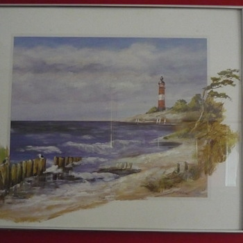 Stormy Morning & Windy Afternoon - 2 Schotller Paintings - Fine Art