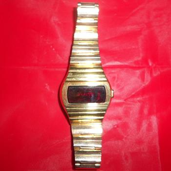 Hamilton QTC (Quartz Time Computer) model 999 watch