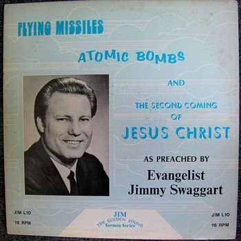 Flying Missiles, Atomic Bombs and the Second Coming of Jesus Christ - Records