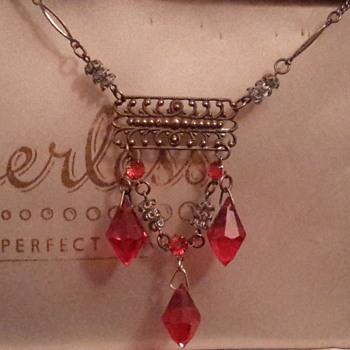 Edwardian festoon necklace - Costume Jewelry