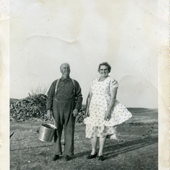 Maternal Grandparents - Photographs