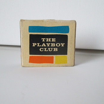 Playboy Club Matchbox - Advertising
