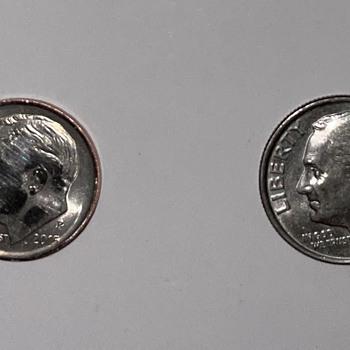 2015 P Dime, error coin?  - US Coins