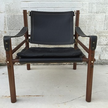 1960's Arne Norell Sirocco Safari Mid Century Modern Chair - Mid-Century Modern