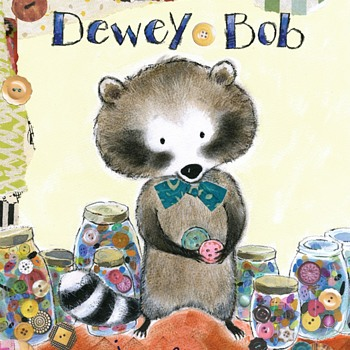 Dewey Bob - the furriest button collector of all! - Sewing