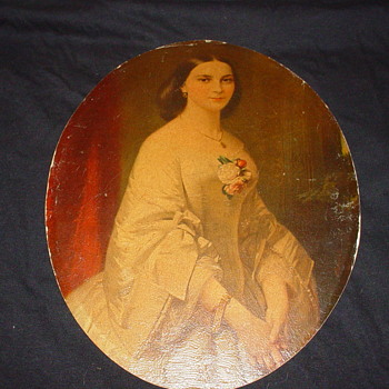 Painting of woman - Fine Art